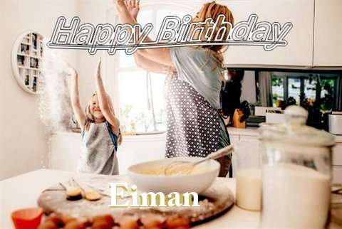 Birthday Wishes with Images of Eiman