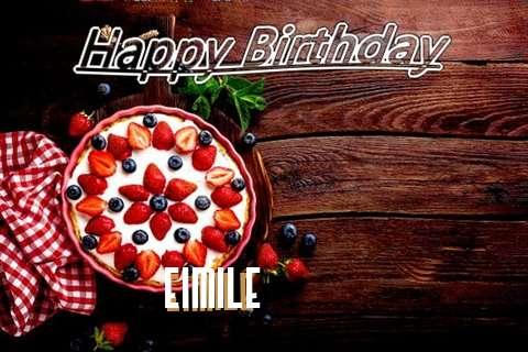 Happy Birthday Eimile Cake Image