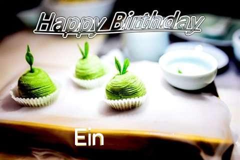 Happy Birthday Wishes for Ein