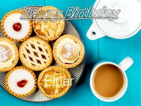 Happy Birthday Einar