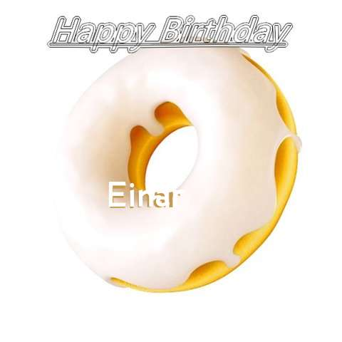 Birthday Images for Einar