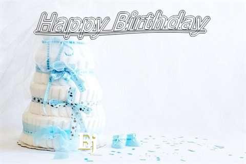 Happy Birthday Ej Cake Image