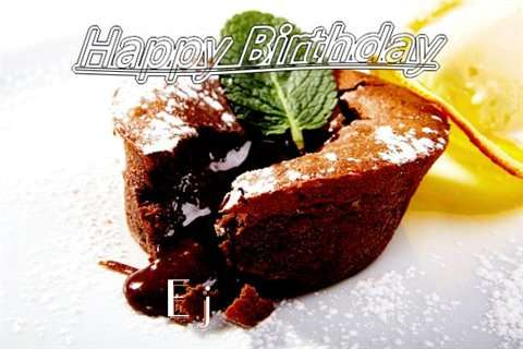 Happy Birthday Wishes for Ej