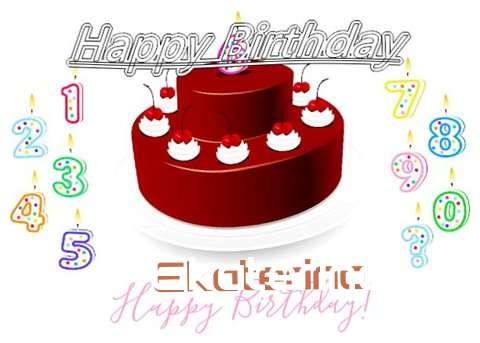 Happy Birthday to You Ekaterina