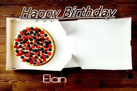 Happy Birthday Elan