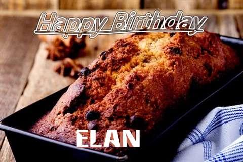 Happy Birthday Wishes for Elan