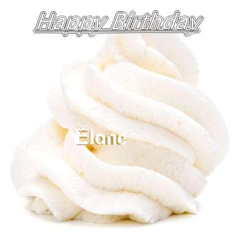 Happy Birthday Wishes for Elane