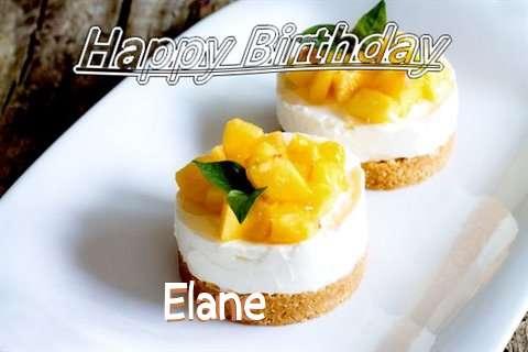 Happy Birthday to You Elane