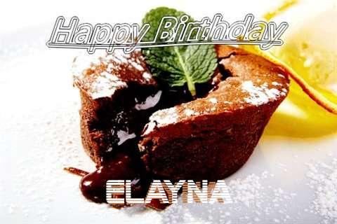 Happy Birthday Wishes for Elayna