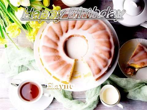 Birthday Wishes with Images of Elayne