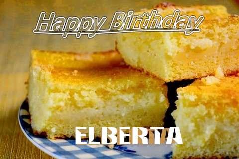 Happy Birthday Elberta