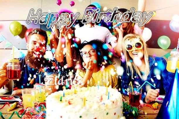 Happy Birthday Eldrick Cake Image