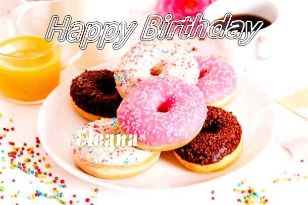 Happy Birthday Cake for Eleana