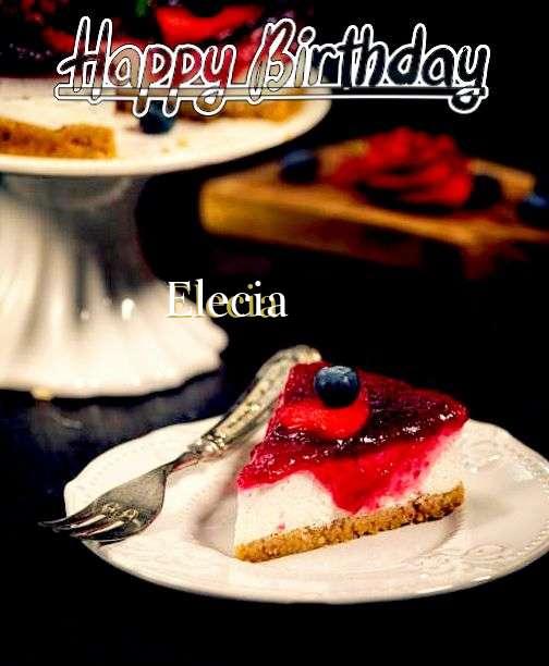 Happy Birthday Wishes for Elecia