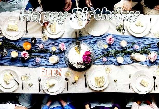 Birthday Images for Elen