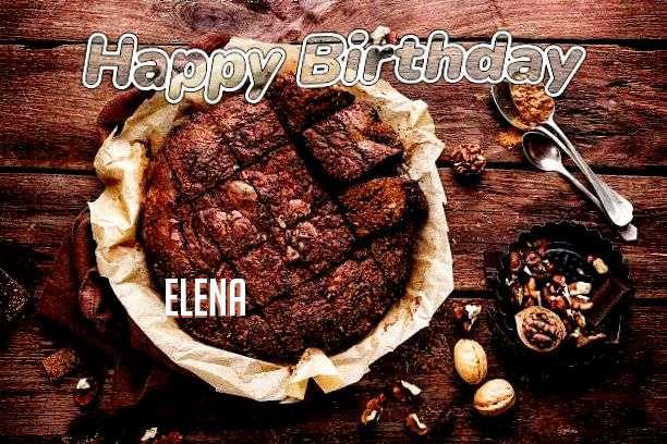 Happy Birthday Cake for Elena