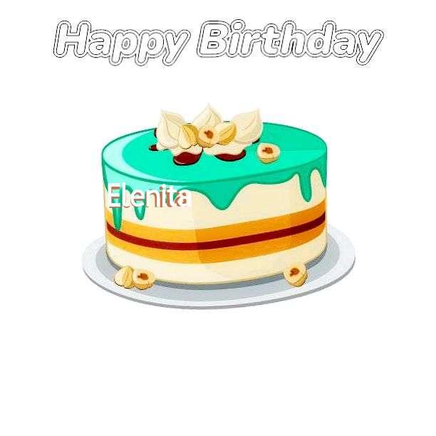 Happy Birthday Cake for Elenita