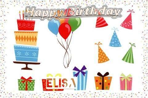 Happy Birthday Wishes for Elisa