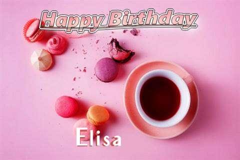 Happy Birthday to You Elisa