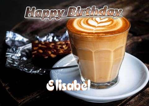 Happy Birthday Elisabel Cake Image