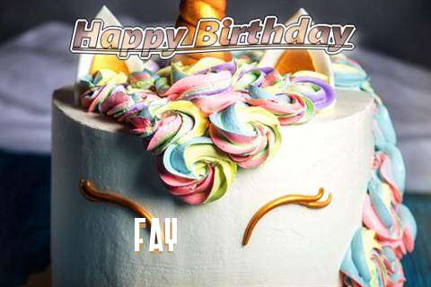 Birthday Wishes with Images of Fay
