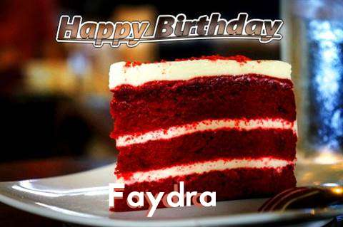 Happy Birthday Faydra