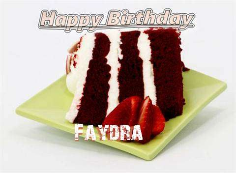 Birthday Wishes with Images of Faydra
