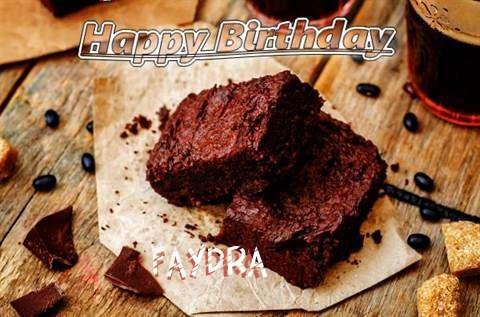 Happy Birthday Faydra Cake Image
