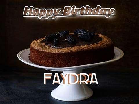 Faydra Birthday Celebration