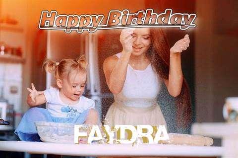 Happy Birthday to You Faydra