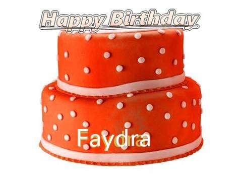 Happy Birthday Cake for Faydra
