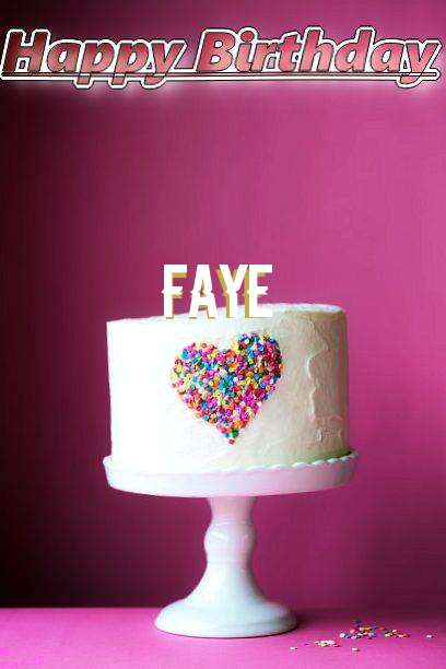 Birthday Wishes with Images of Faye
