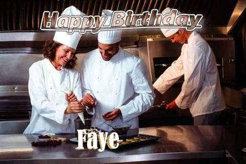 Happy Birthday Cake for Faye