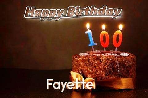 Fayette Birthday Celebration