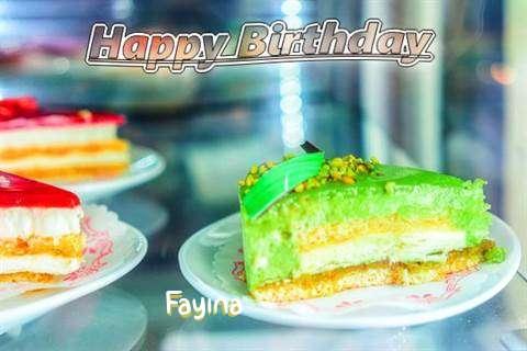 Fayina Birthday Celebration