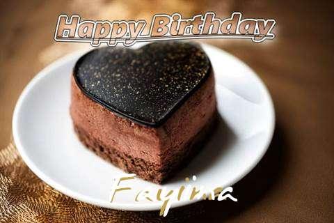 Happy Birthday Cake for Fayina
