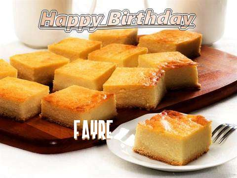 Happy Birthday to You Fayre
