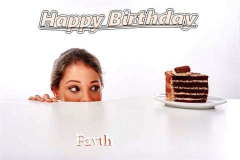 Birthday Wishes with Images of Fayth