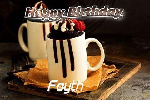 Fayth Birthday Celebration