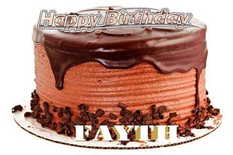 Happy Birthday Wishes for Fayth