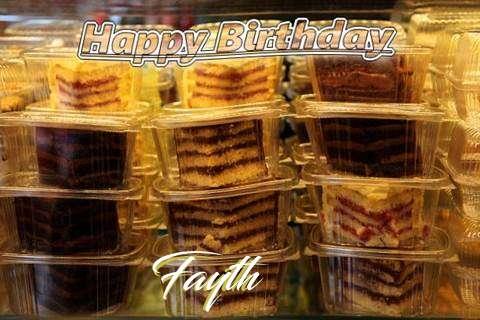 Happy Birthday to You Fayth