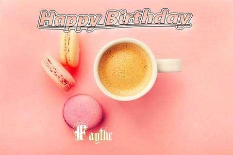 Happy Birthday to You Faythe