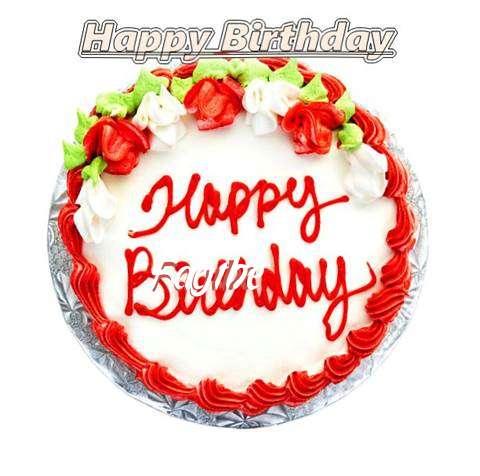 Happy Birthday Cake for Faythe