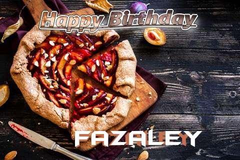 Happy Birthday Fazaley Cake Image