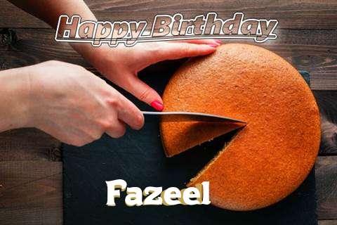 Happy Birthday to You Fazeel
