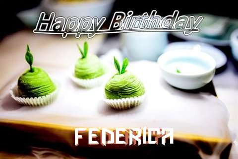 Happy Birthday Wishes for Federica