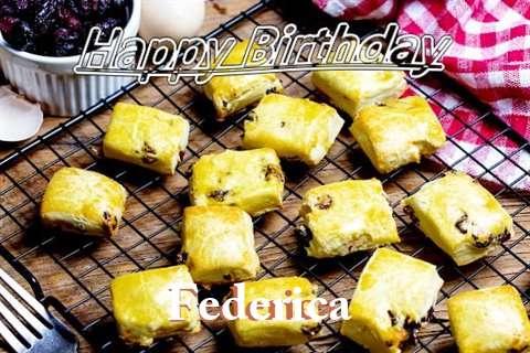 Happy Birthday to You Federica