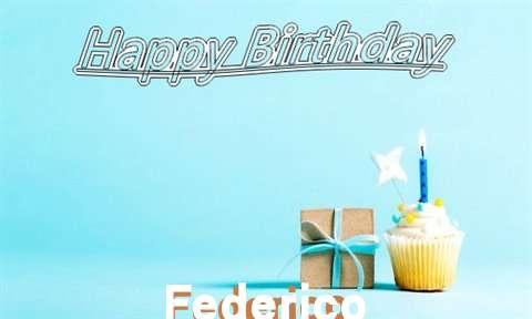 Happy Birthday Cake for Federico