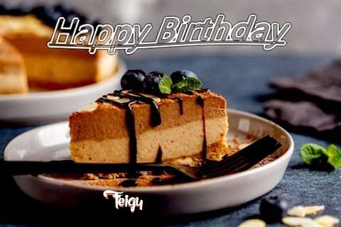Happy Birthday Feigy Cake Image