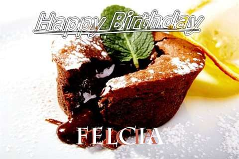 Happy Birthday Wishes for Felcia
